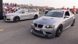 GPower BMW M3 E92 vs Audi RS6 Avant vs Nissan GTR R35