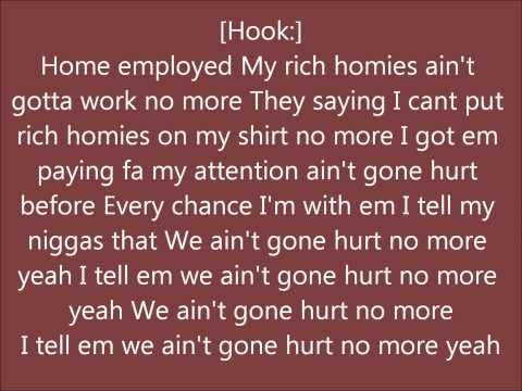 Rich Homie QuanHurt no more lyrics