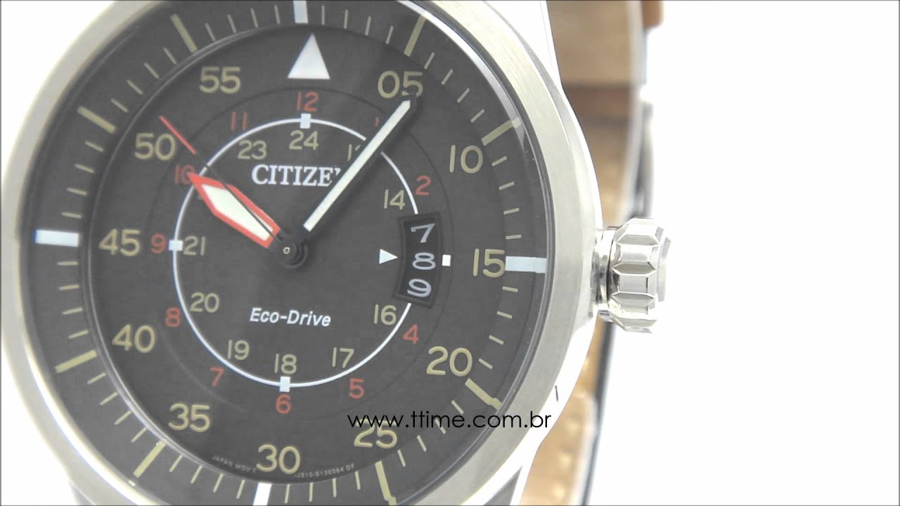 462668a26be Relógio Citizen Eco-Drive AW1360-12H - TZ30393C - YouTube