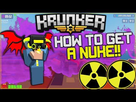 KRUNKER.IO | HOW TO GET A NUKE! *INSANE NUKE GAMEPLAY*