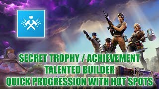Talented Builder Secret Trophy/Achievement Tips - Fortnite [Save The World]