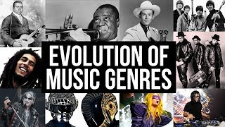 The Evolution of Music Genres (1870 - Today)