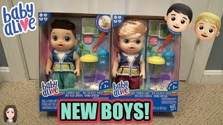 Video BRAND NEW Baby Alive Sweet Spoonfuls Boys Box Opening & Review! | Kelli Maple download MP3, 3GP, MP4, WEBM, AVI, FLV Januari 2018