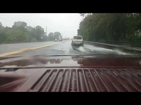 Houston highway 6 flooded