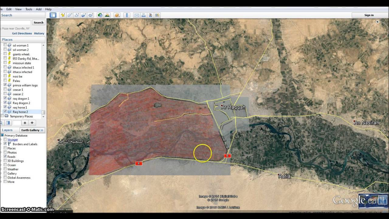 AlRaqqah Syria France Bombing target Maps out WW3 Horsemen