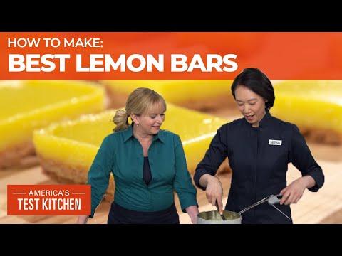 How to Make the Lemoniest Lemon Bars - America's Test Kitchen