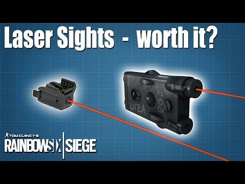 Laser Sights, are they worth using? - Rainbow Six | Siege