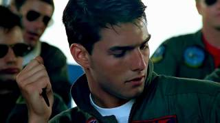 Repeat youtube video Berlin - Take My Breathe Away theme from Top Gun with Lyrics