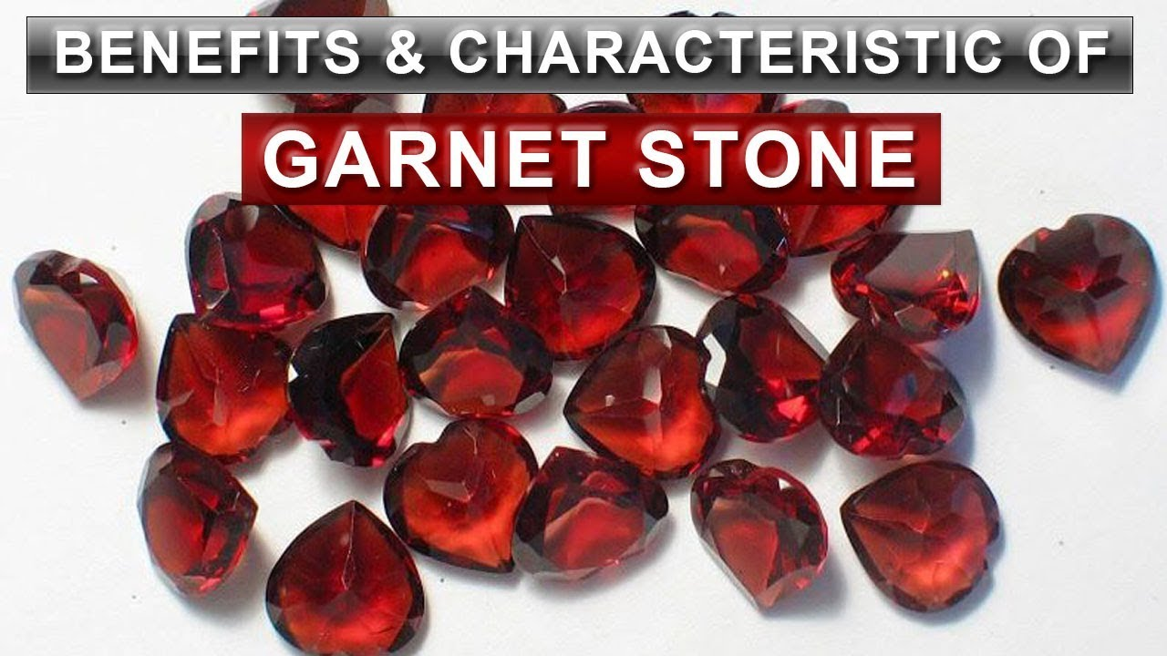 Characteristic Benefits Of Garnet Yakut Lal Stone Youtube