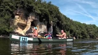 La rivière et ses plages - Camping Le perpetuum - Dordogne - Périgord