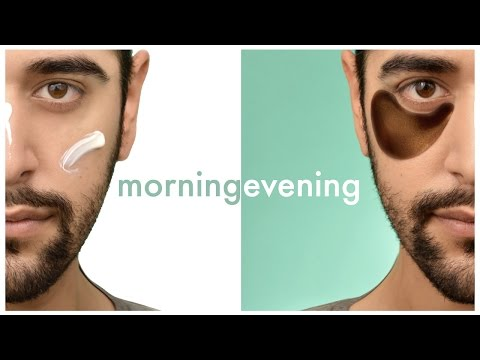 Men's Daily Morning And Evening Skincare Routine (Oily Skin) Aug 2016  ✖ James Welsh