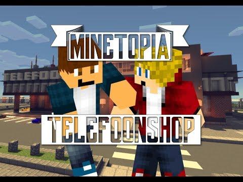 DE TELEFOONSHOP Is Open! | Minetopia #90