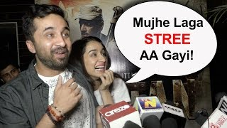 Shraddha Kapoor's STREE Moment With Brother Siddhant Kapoor At Paltan Screening