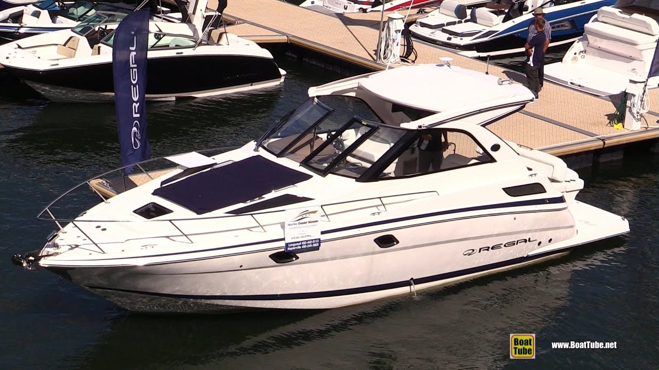 2016 Regal 35 Sport Coupe Motor Yacht Walkaround 2016