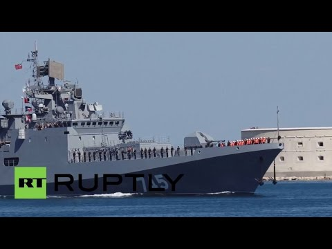 Russia: New frigate The Admiral Grigorovich arrives in Sevastopol