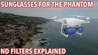 Phantom 4 ND Filters Drone Sunglasses