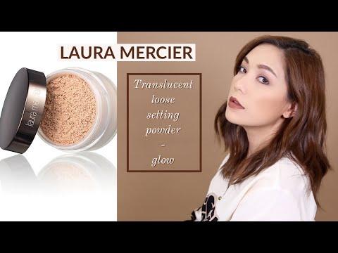 "DAILYCHERIE : ลองแป้งใหม่ Translucent Loose Setting Powder ""GLOW"" จาก Laura Mercier - วันที่ 14 Sep 2018"