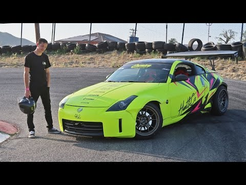 DRIFTING TJ HUNT'S 350Z