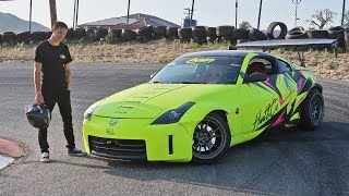 Video DRIFTING TJ HUNT'S 350Z download MP3, 3GP, MP4, WEBM, AVI, FLV November 2017