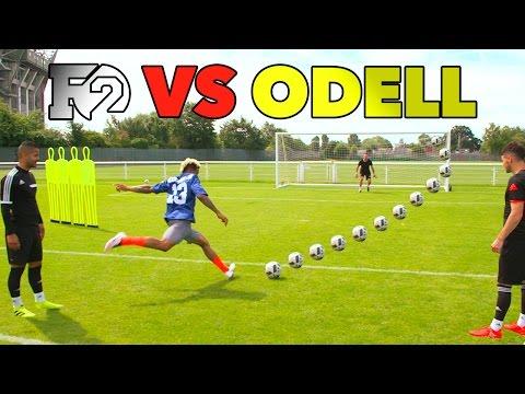 ODELL'S OUTRAGEOUS SOCCER SKILLS | F2 vs Beckham Jr ??⚽️