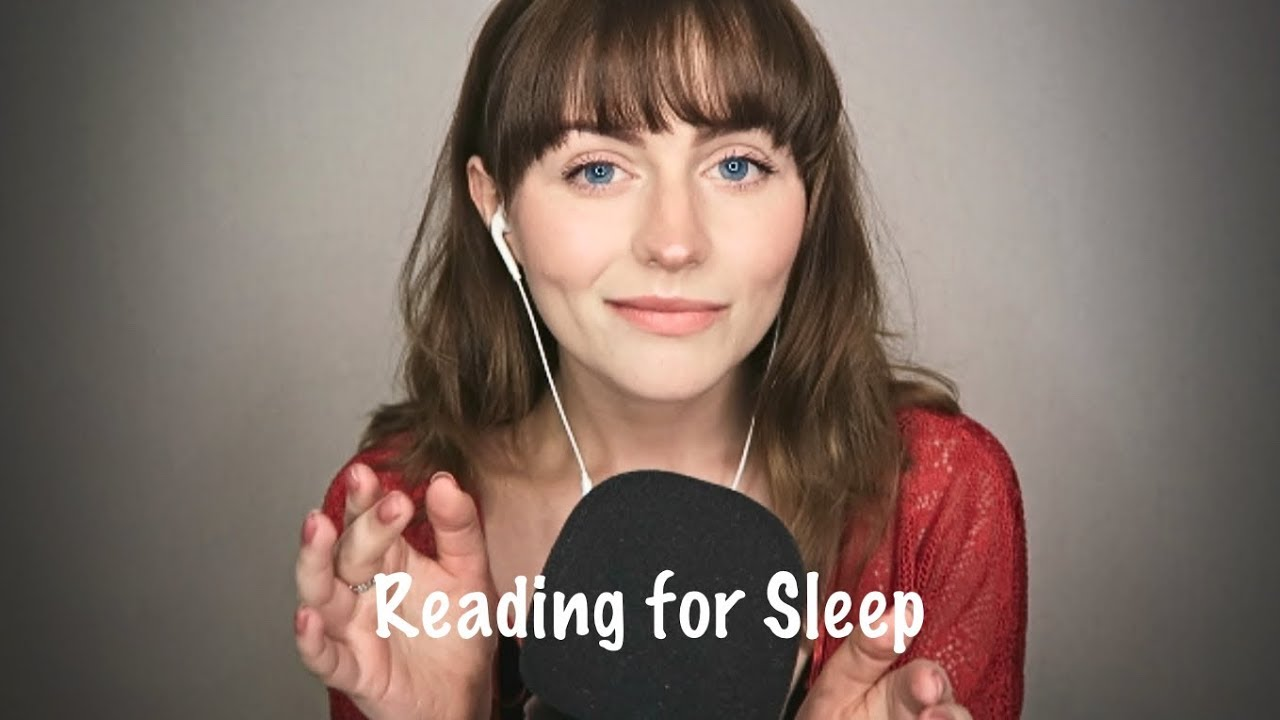 [ASMR] Reading to you for sleep- Soft spoken relaxation