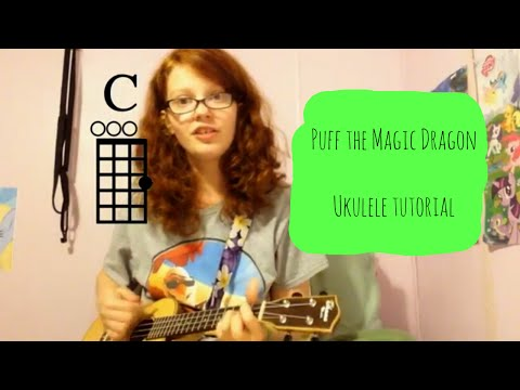Puff The Magic Dragon (Peter, Paul and Mary) Ukulele Tutorial ...