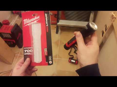 Обзор и тест фонарика Milwaukee 2110-20 он же Milwaukee USB L4 MLED-201