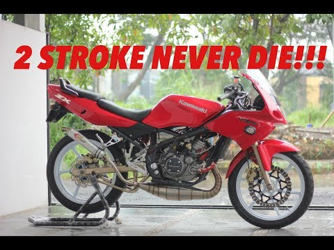 Review Modifikasi Kawasaki NINJA 150 RR 2 STROKE! #motovlog Indonesia