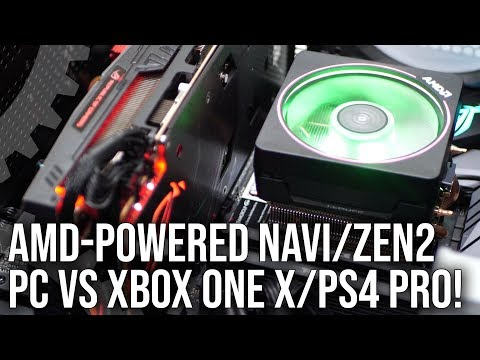 In Theory: Zen 2/Navi PC vs Xbox One X/PS4 Pro - How Much More Performance Could We Get?