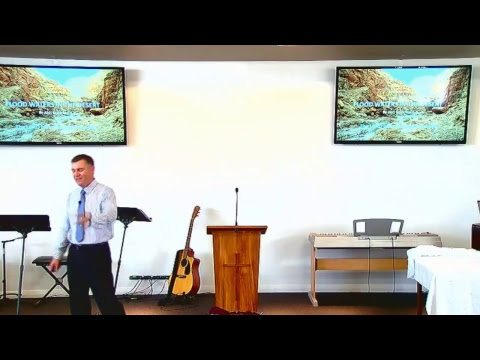 Flood Waters in the Desert (Psalm 23)