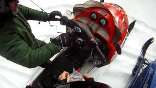 How to fix a leaky gas cap on your snowmobile.MP4