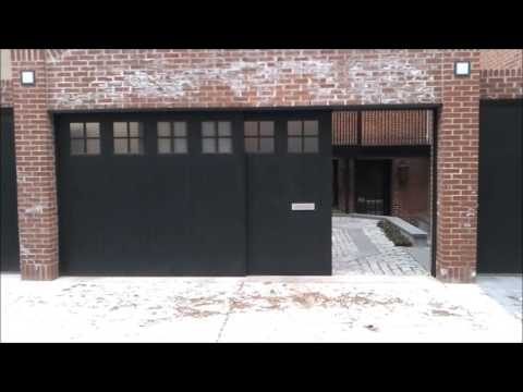 Sliding Garage Door  YouTube