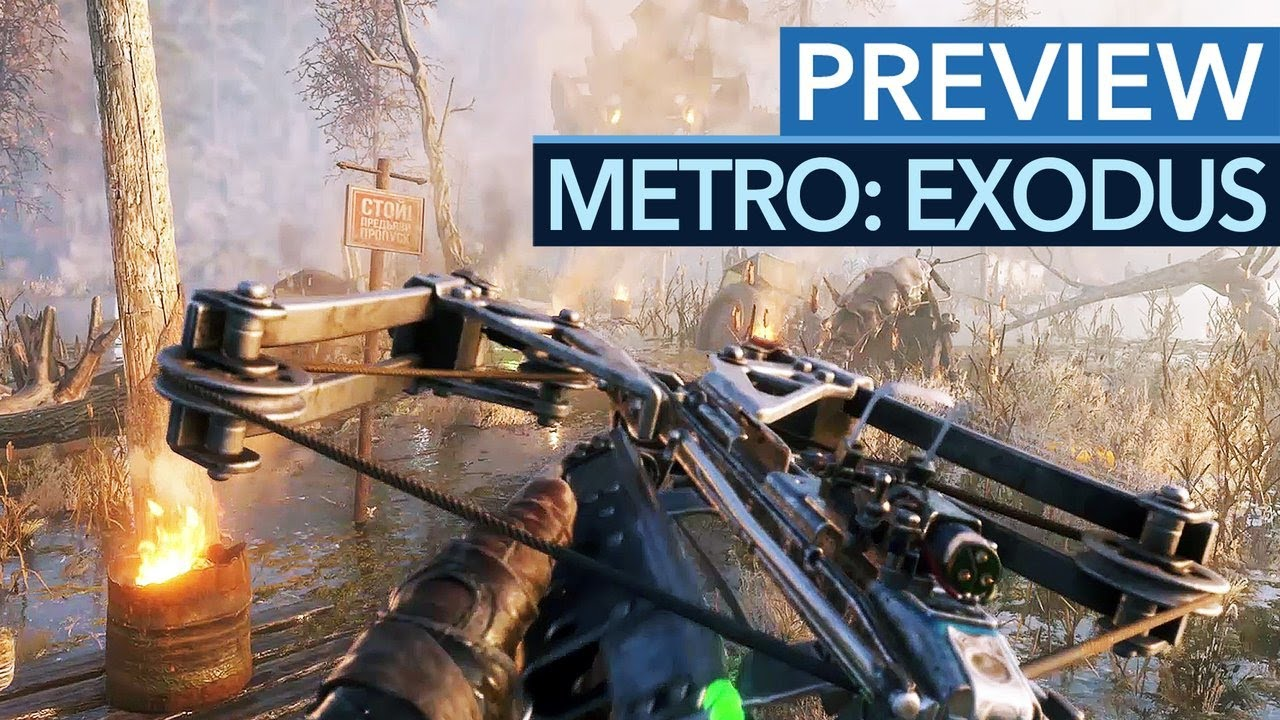 Metro: Exodus ist wie ein Best-of Crysis - Gameplay-Preview