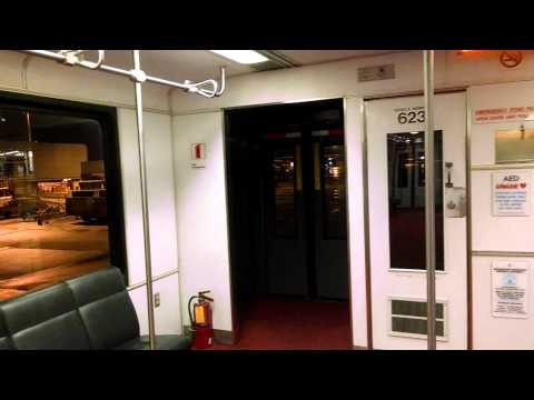 A Ride On Board a Dulles Airport Mobile Lounge (4/15/2014)
