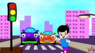 Kids' Zone - Learn Traffic Signals & Road Safety with Johny, the car