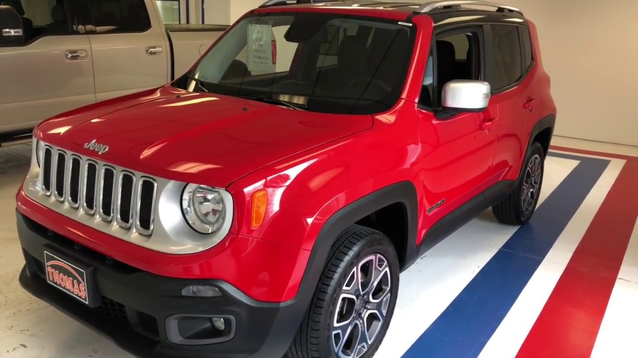 Red Jeep Renegade >> 2017 Jeep Renegade Limited 4x4 Suv Colorado Red Stock Zpf10362 Relyonata Relyonata