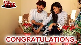 Repeat youtube video CONGRATULATIONS ! Param and Harshita Celebrate Their Achievement
