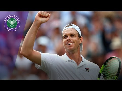 Sam Querrey shocks defending champion Murray at Wimbledon 2017