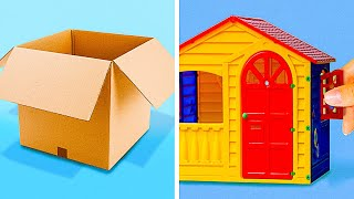40 SIMPLE CARDBOARD DIYS || Funny Projects by 5-Minute DECOR