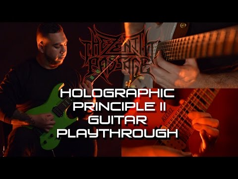 The Zenith Passage - Holographic Principle II (Guitar Playthrough)