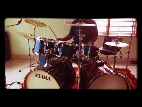 Aro ekbar fossils (drum cover) acoustic...