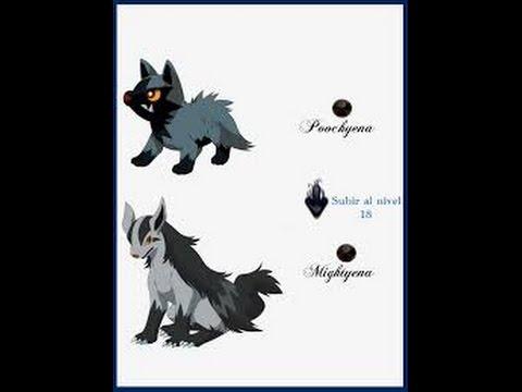 Pokemon Evolucion De Poochyena A Mightyena - YouTube