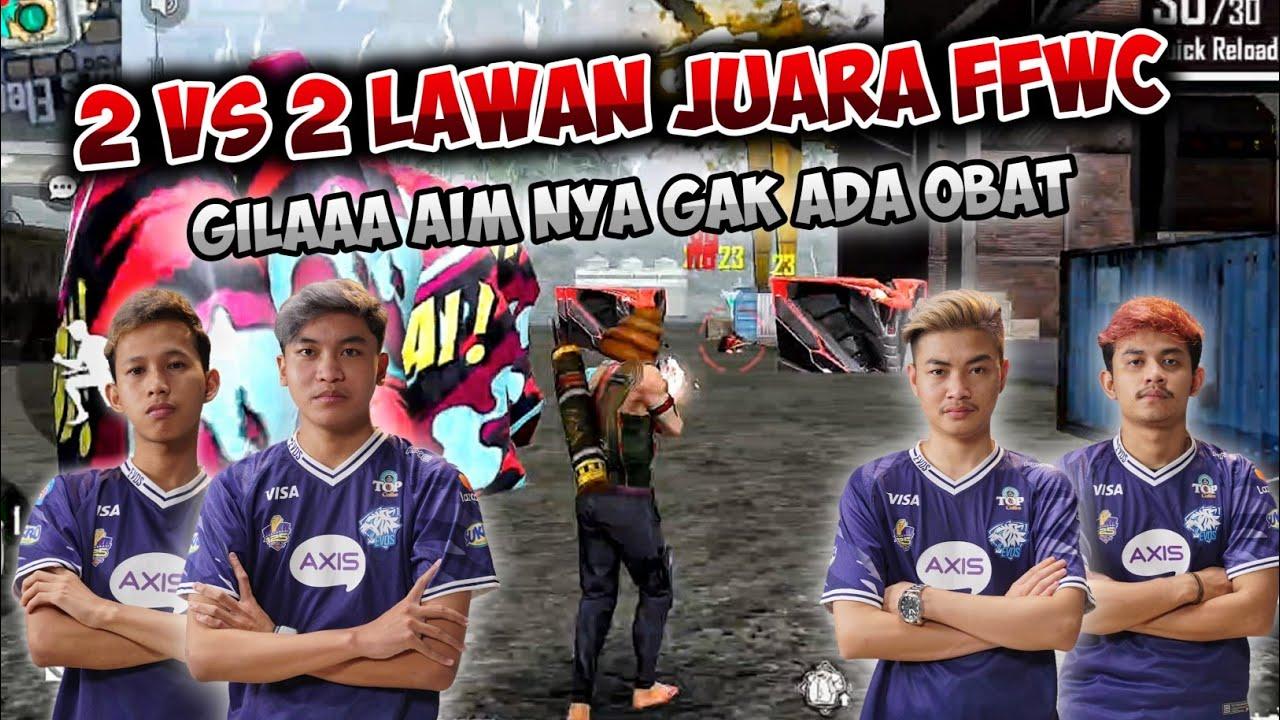 2 VS 2 LAWAN JUARA FFWC MR05 & SAM13, AUTO DI KASIH PAHAM YANG SEREM SEREM !!!