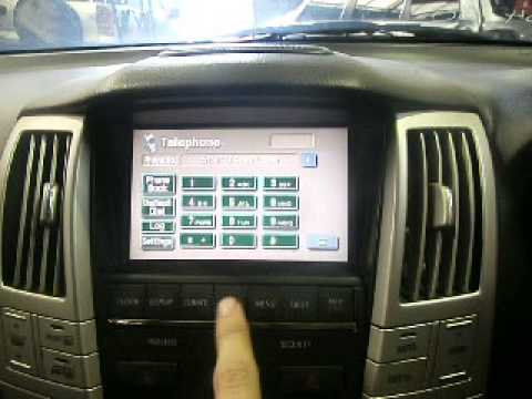 WRECKING 2005 LEXUS RX330 DVDRADIOSAT NAV ASSY W GPS UNIT FROM – Lexus Rx330 Fuse Box Location