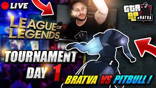 🔴Live! |⭐BRATVA⭐| SONOFZEUS 2021 LoL Tournament Day 1 + GTA !brackets
