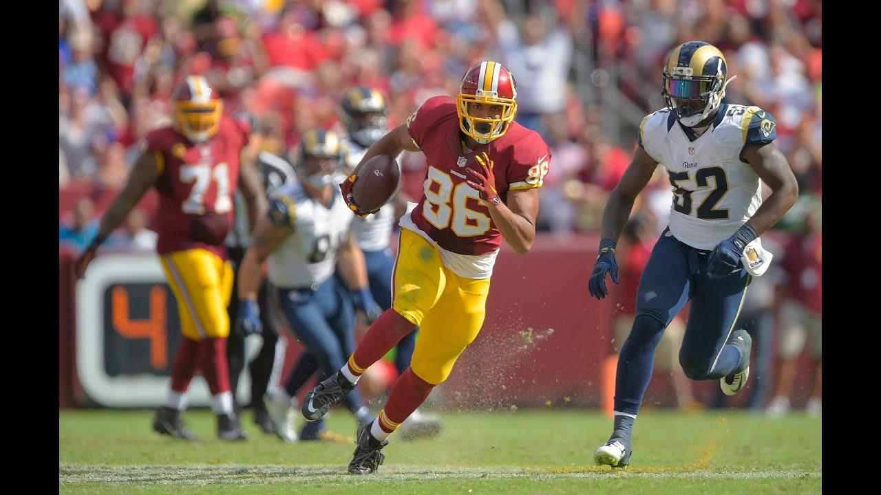 JORDAN REED 2015 NFL SEASON HIGHLIGHTS