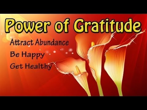 Power Of Gratitude: Attract Abundance & Miracles | Subliminal Meditation Isochronic Binaural