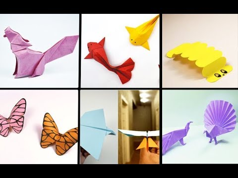 6 EASY ANIMALS ORIGAMI | ORIGAMI FOR KIDS | Paper Art 013