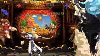 Guilty Gear Isuka   vs  Ky Dizzy vs Robo Ky Jam