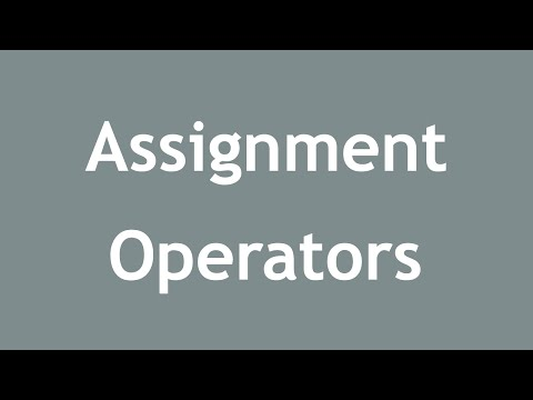 [ Learn PHP 5 In Arabic ] #13 - Assignment Operators